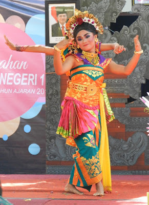 Ubud danze indonesiane tradizionali