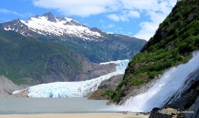 The Mendenhall Glacier, Juneau Alaska