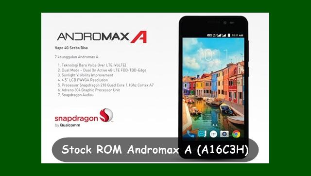 Stock ROM Smartfren Andromax A (A16C3H) V.3.5