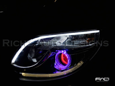 custom headlamp toyota rush 2016