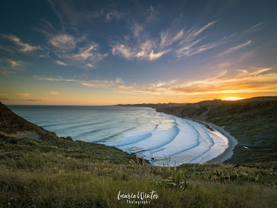 New Zealand, NZ, Lighthouse, Sunrise, Sunset, Castlepoint, Wairarapa