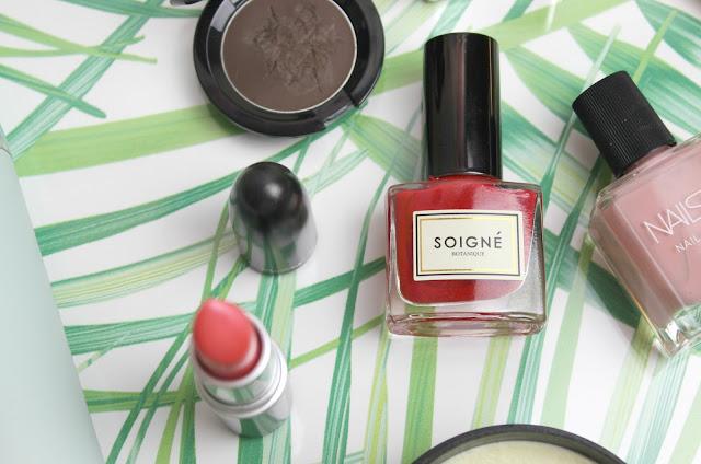 Soigne Pomegranate Nail Polish Review