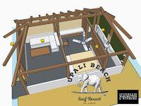 plan of jr suite cabana