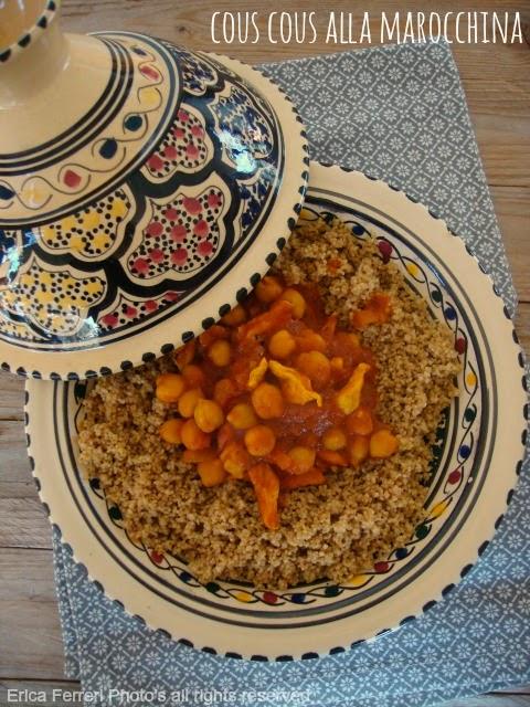 Ogni riccio un pasticcio blog di cucina cous cous alla for Cucinare cous cous