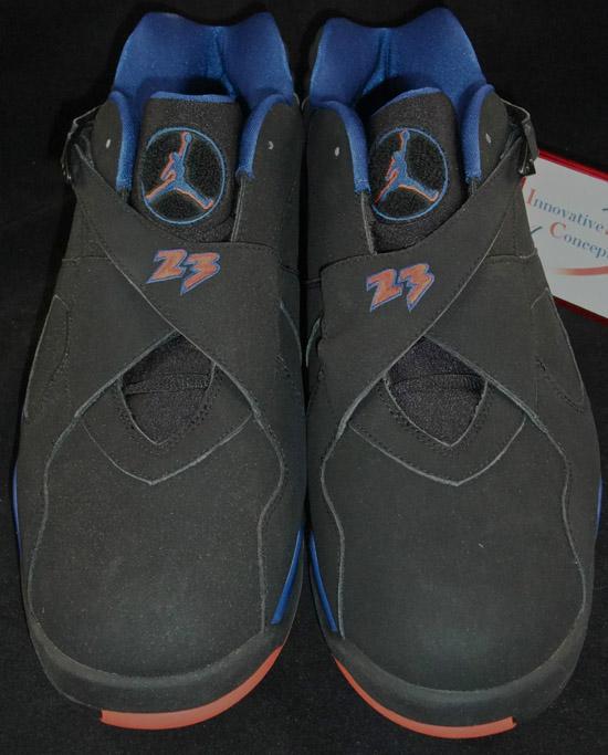 Air Jordan Spizike New York Knicks Blue Ribbon Black Whi shoes 867635730