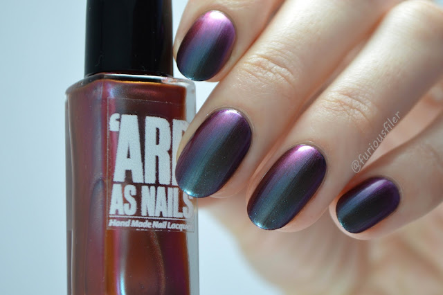 'ard as nails colour shift noelle oil slick swatch