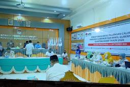Para Bakal Calon Gubernur-Wakil Gubernur Sumbar Mendaftar Ke KPU Sumbar
