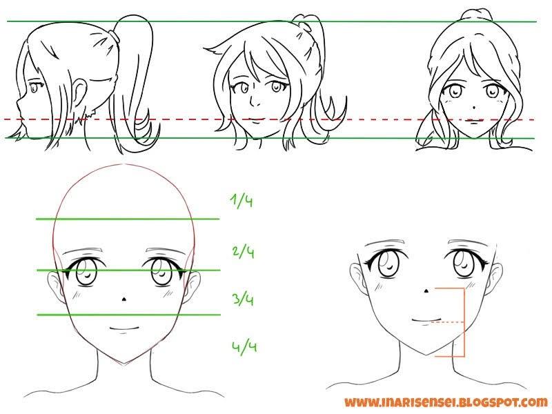 Anatomie du visage pour placcer correctement la bouche