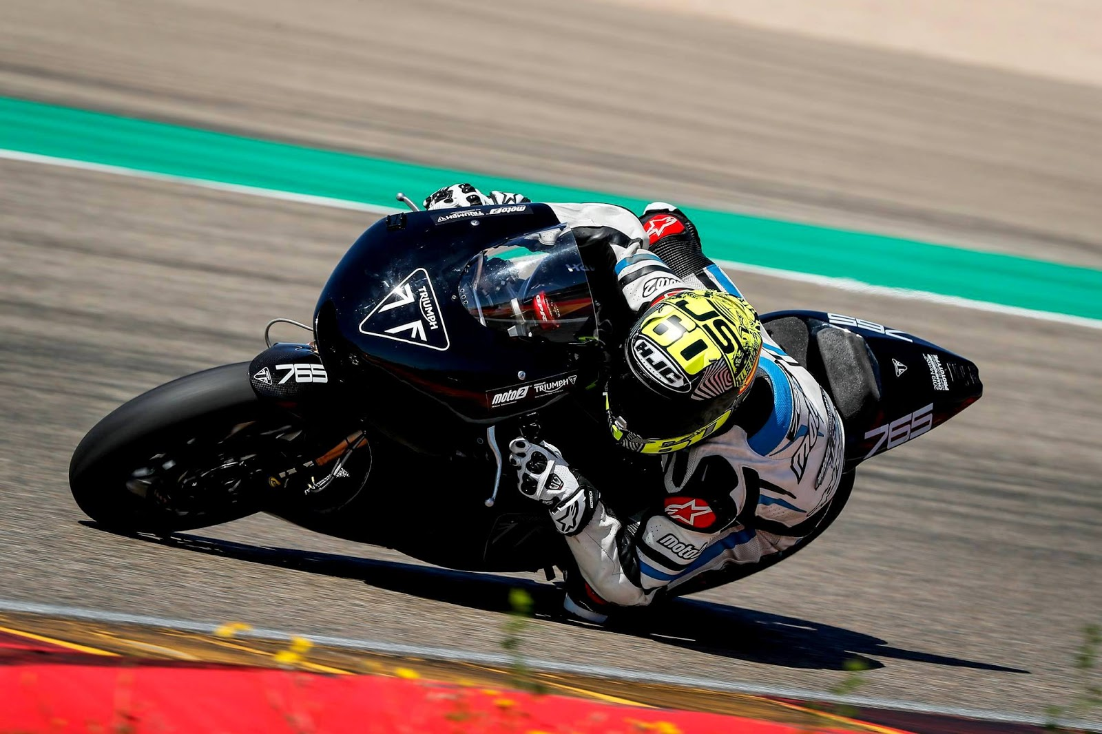 Mesin Triumph Moto2 Jalani Uji Coba dengan ECU Magneti Marelli di Sirkuit Aragon