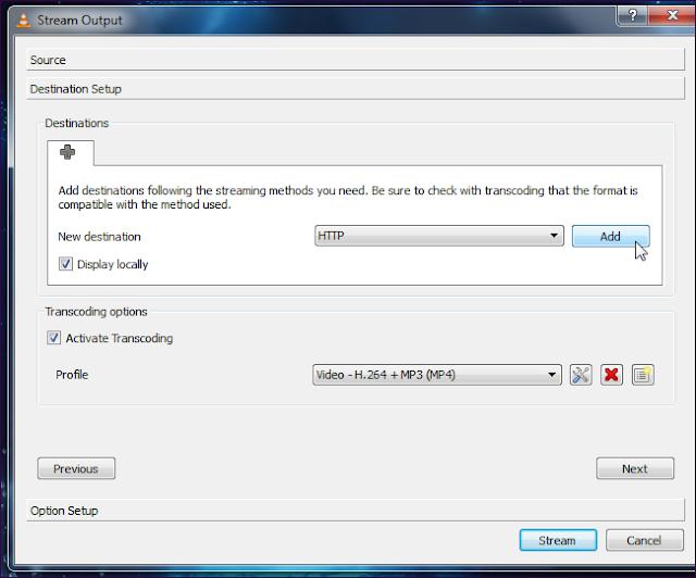 VLC-streaming media