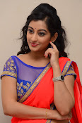 tejaswini sizzling photos in saree-thumbnail-19