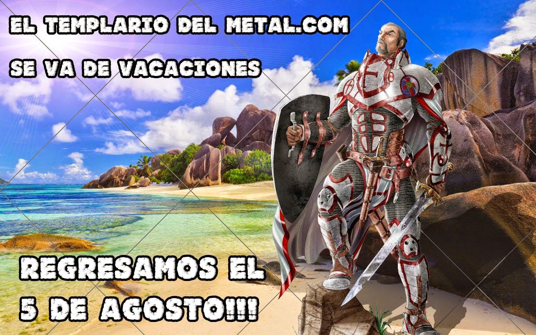 El Templario del Metal: julio 2014