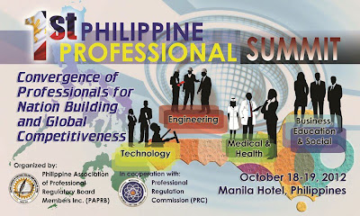 PRC First Professional Summit 2012