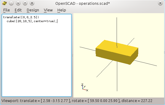 3D printer improvements: How to use Openscad (1), tricks and
