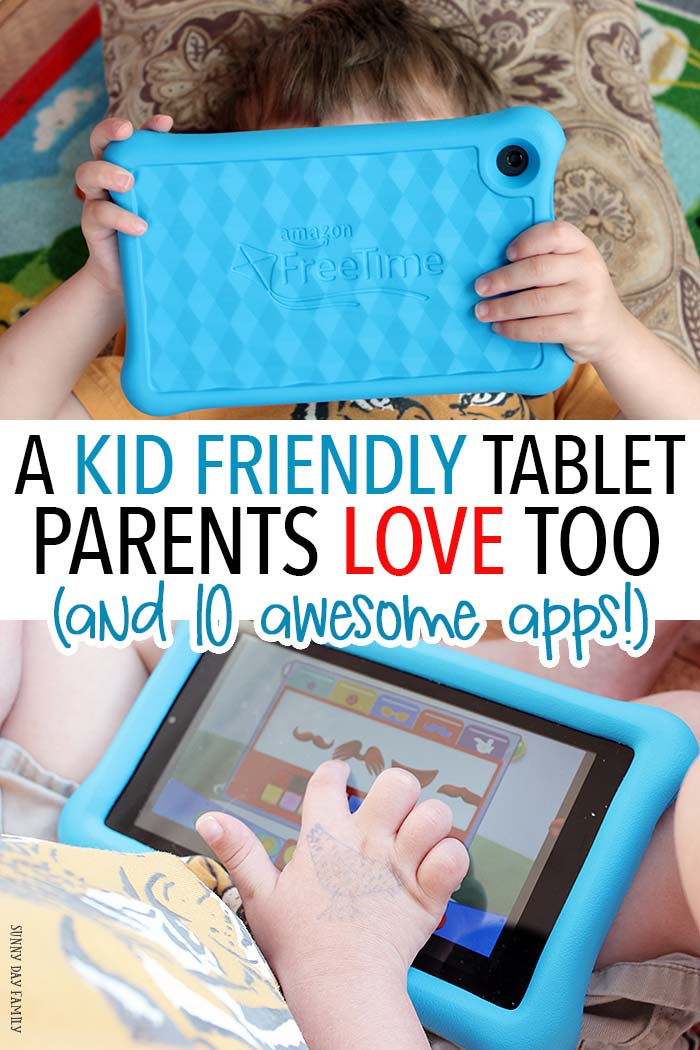 Looking for a kid friendly tablet? This is the one you want! With access to thousands of age appropriate apps and amazing parental controls, it's the only one we can all agree on. And check out our family's 10 favorite apps for preschoolers, hand picked by kids! (sponsored)