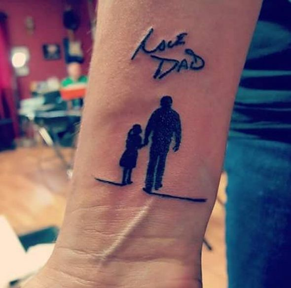 13 Tattoos For Dads With Daughters: 110+ Best Memorial Tattoos Designs & Ideas (2018)
