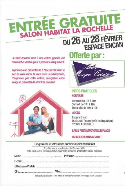L 39 atelier moryce creation marbrerie d coration - Salon de l agriculture invitation gratuite ...
