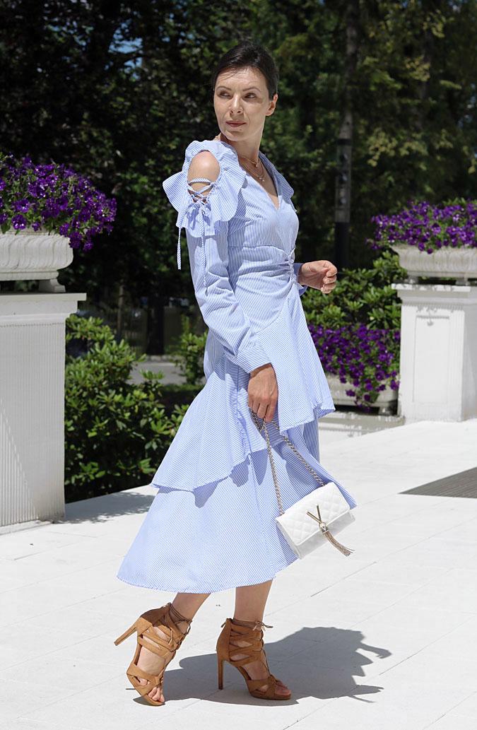 sukienki asymetryczne 2019