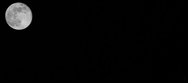 הירח וצדק 30/04/2018