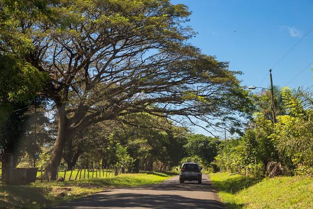 Carretera en Costa Rica