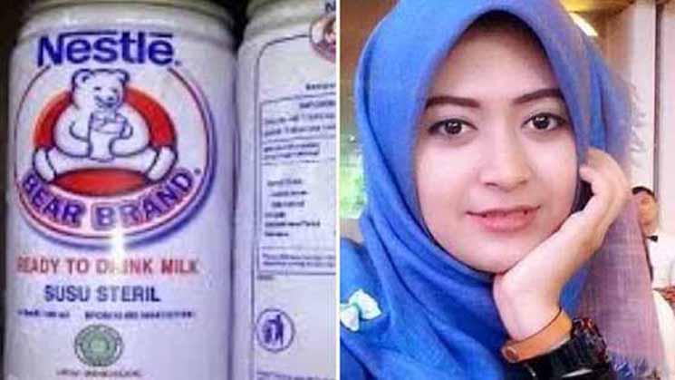 Mengejutkan! Wanita Ini Mengoleskan Susu Beruang Pada Wajahnya Hasilnya Bikin Melongo, Wajib Dicoba Ini