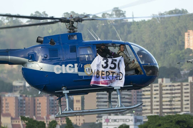 Helicopter attack targets Venezuela's Supreme Court