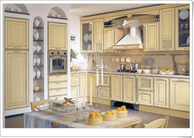 Tradisjonelle italienske kjøkken - interiør inspirasjon