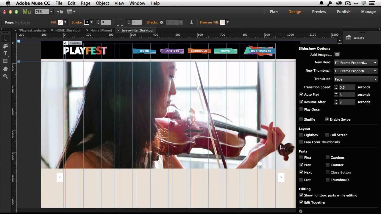 Adobe muse cc 2015 sale
