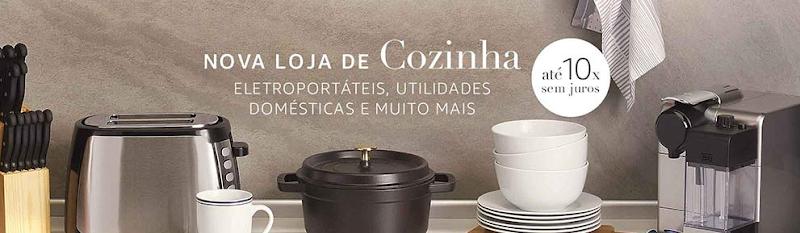 Amazon expande seu Marketplace com o lançamento da categoria Casa e Cozinha no Brasil