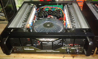 Profesional Power Amplifier Class H