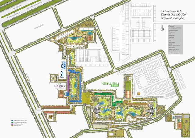 Master Plan - M3M Golf Estate
