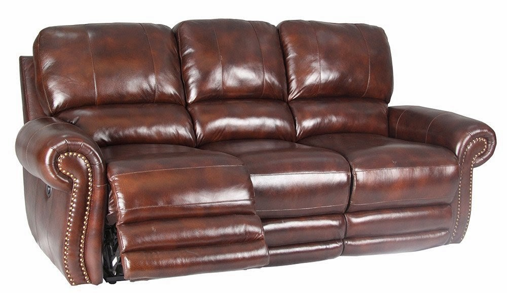 Thor Power Dual Leather Power Reclining Sofa Set
