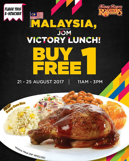 Kenny Rogers ROASTERS Malaysia Victory Lunch