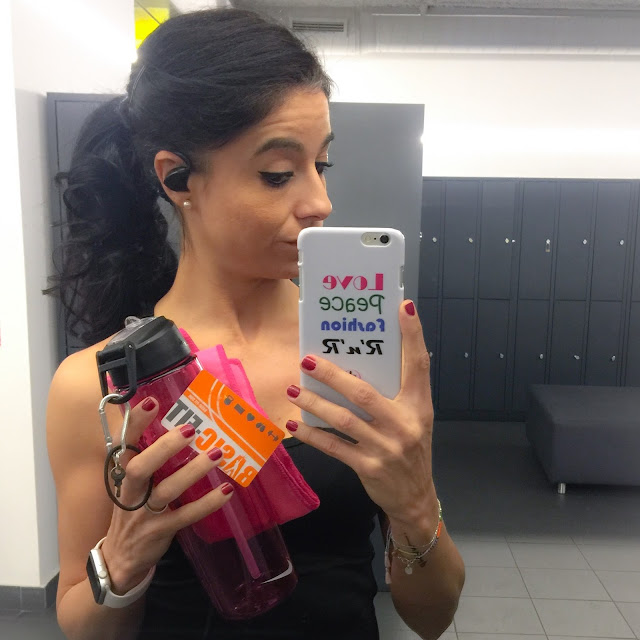 Mi Diario Runner, selfie, gimnasio, fitness, running, motivación