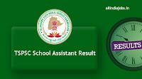 TSPSC School Assistant Result