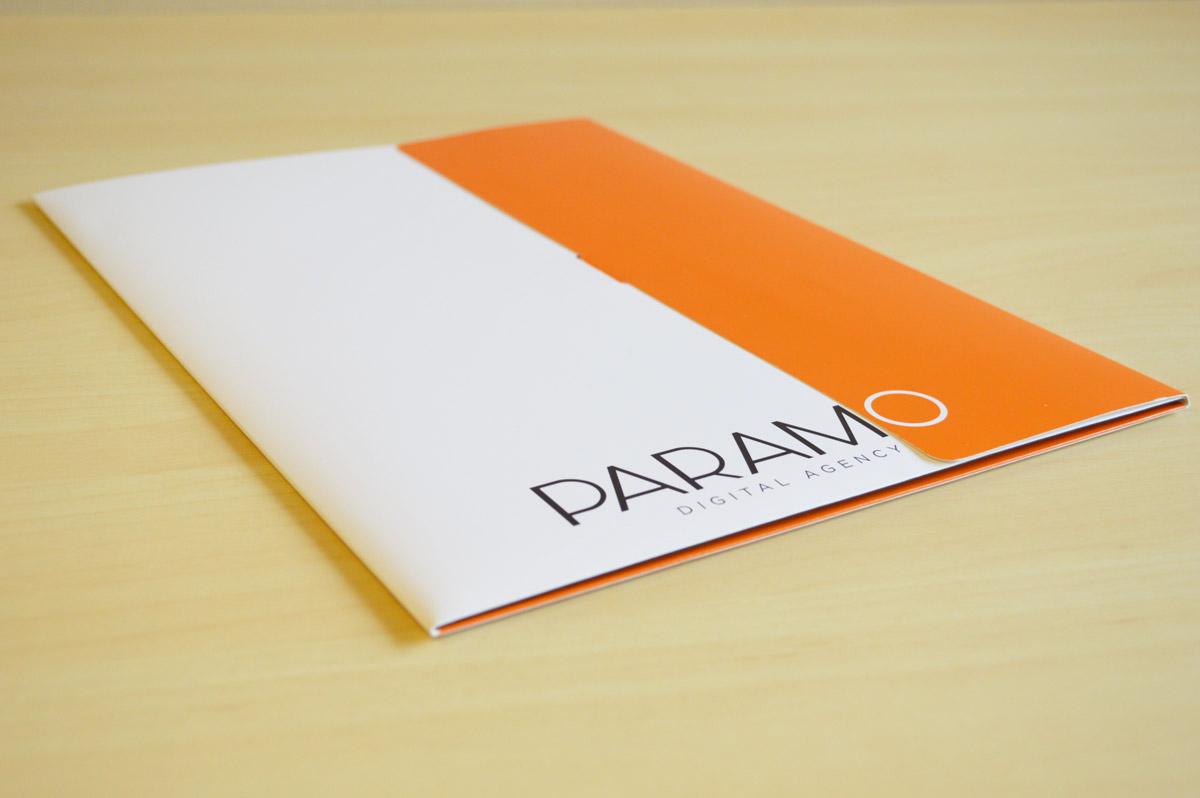Thiết kế kẹp file công ty đẹp - In kẹp file tài liệu giá rẻ, chuyên nghiệp tại Hà Nội PARAMO