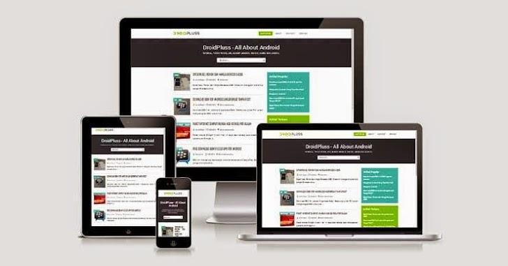 Template DroidPluss Seo Friendly Responsive Blogger Template