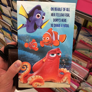 finding dory card