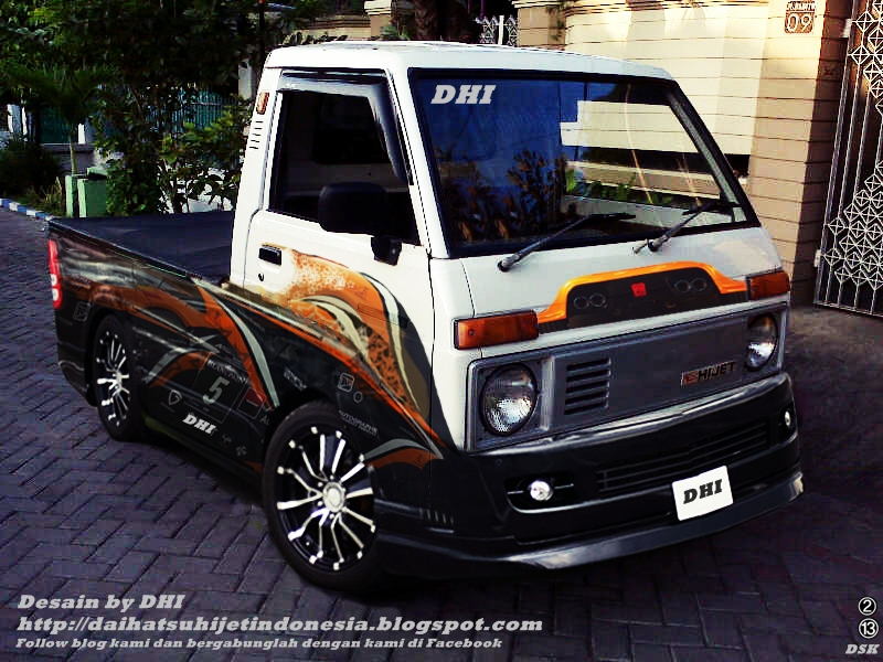 Daihatsu Hijet: Hijet Pick Up Modif