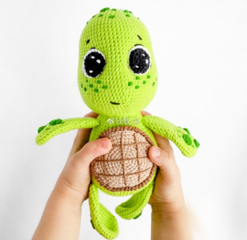 Amigurumi Baby Turtle - Free Pattern