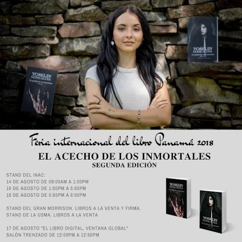 Feria internacional del libro Panamá 2018