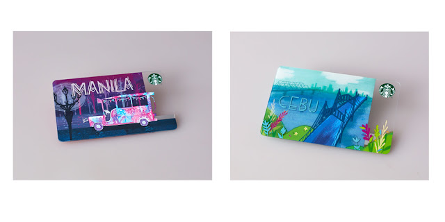 2016 Manila and Cebu Starbucks Cards