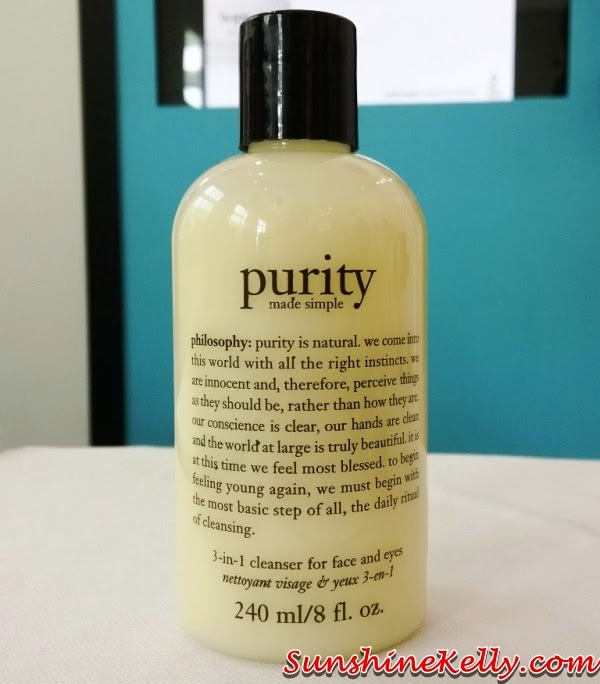 Philosophy Skincare in Malaysia, Purity Made Simple 3 in 1 Cleanser, Philosophy Skincare, skincare, usa skincare, believe in miracles