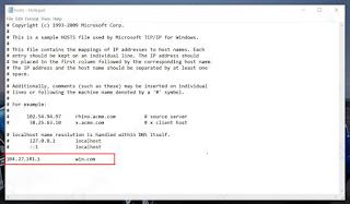 Cara Edit File Hosts di Windows 10