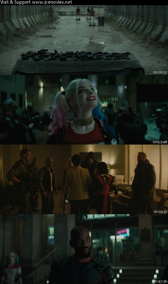 Suicide Squad 2016 English EXTENDED 720p BRRip