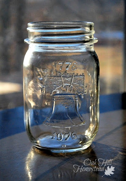 A special edition canning jar