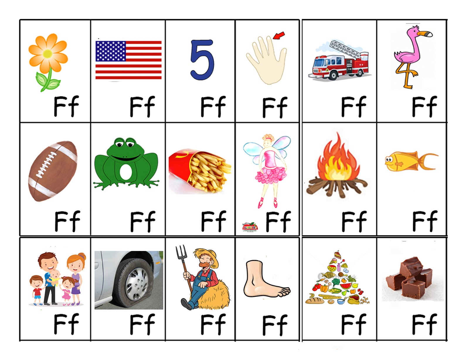 letter f flashcard wiggle poke giggle zoom letter f preschool activities 505