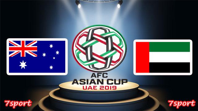موعدنا مع مباراة الامارات واستراليا   بتاريخ  25/01/2019  كاس اسيا