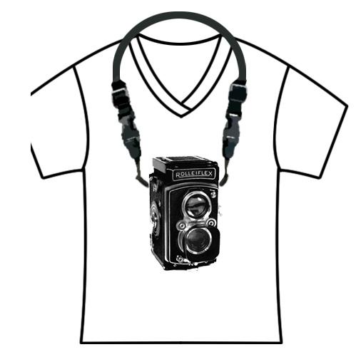 Printable: Camera Shirts (PDFs + photoshop tutorial