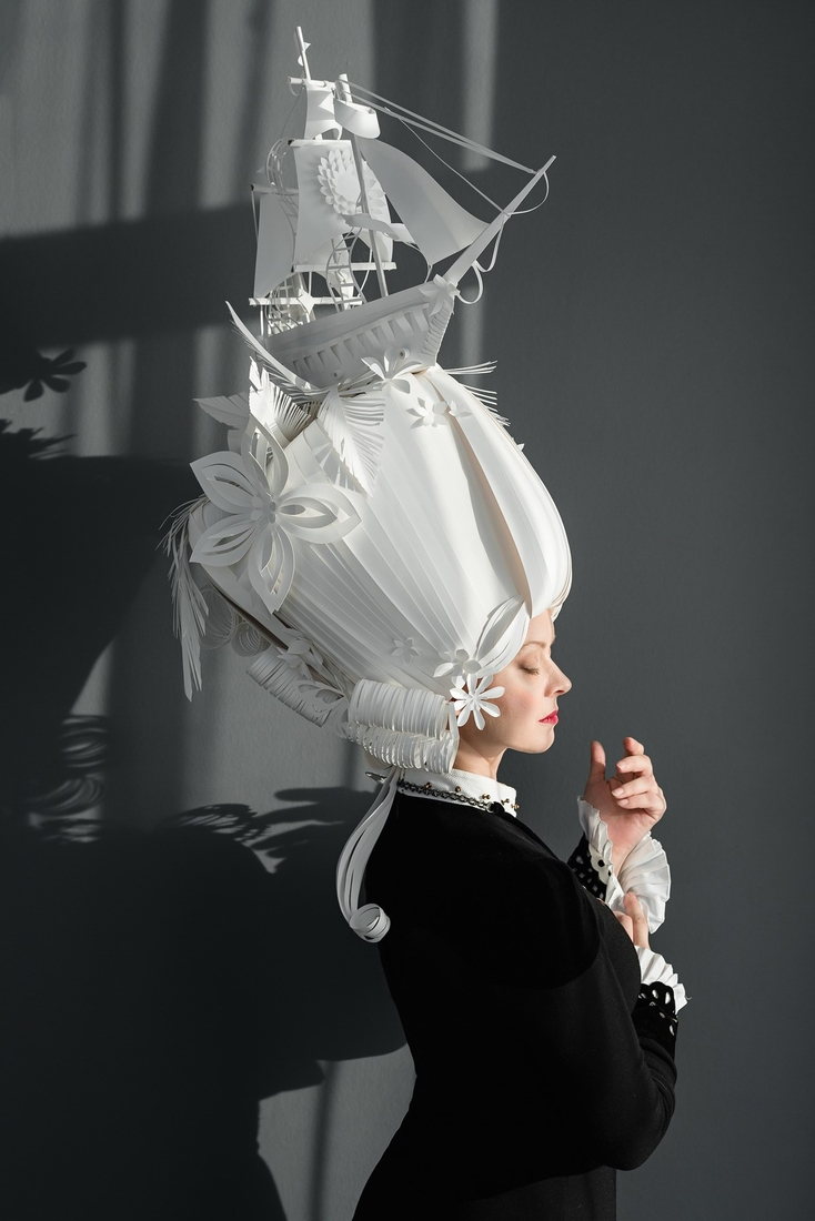 01-Asya-Kozina-Ася Козина-Baroque-Wigs-made-out-of-Hand-Cut-Paper-www-designstack-co